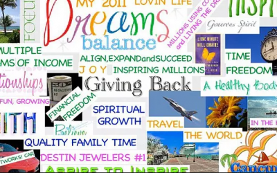 How a Vision Board Can Help You at Midlife