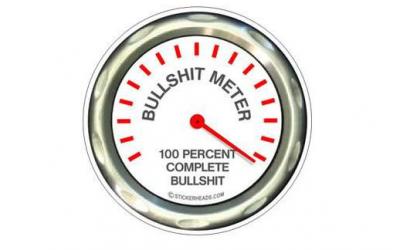 How's Your Internal Bullshit Detector Meter?